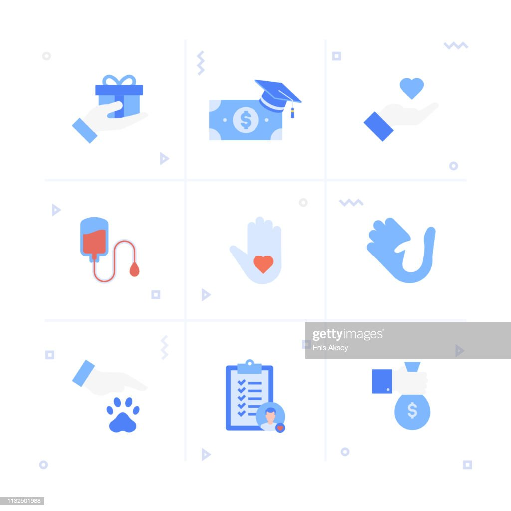 Hands with a charity box Vector Image - 1874494   StockUnlimited