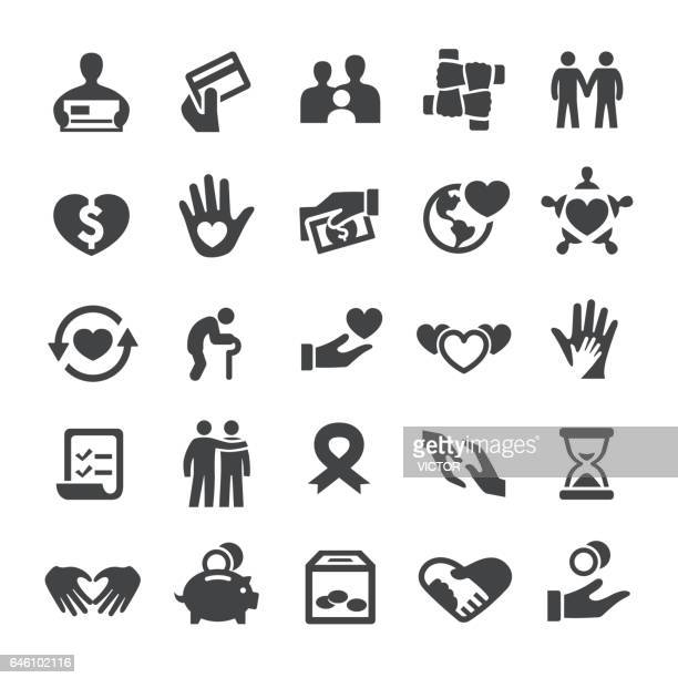 Charity and Giving Icons - Smart Series