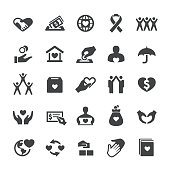 Charity and Relief Icons Set - Smart Series