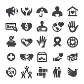 Charity and Relief Icons - Smart Series