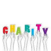charity banner design