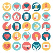charity & donation icons