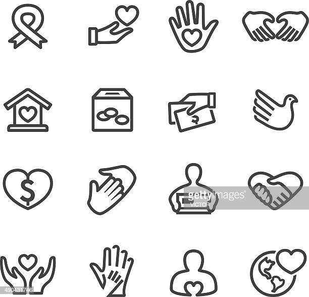 Charity Icons - Line Series