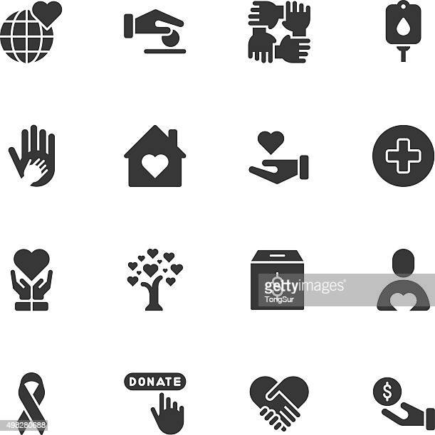 Charity icons - Regular