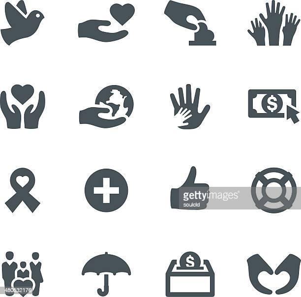 Icônes de charité