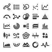 Chart Types Icons Set - Smart Series