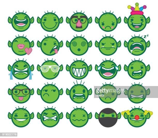 ilustrações de stock, clip art, desenhos animados e ícones de chat emoji internet online trolls texting emoticons - cyberbullying