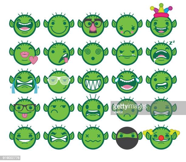 chat emoji internet online trolls texting emoticons - sneering stock illustrations, clip art, cartoons, & icons