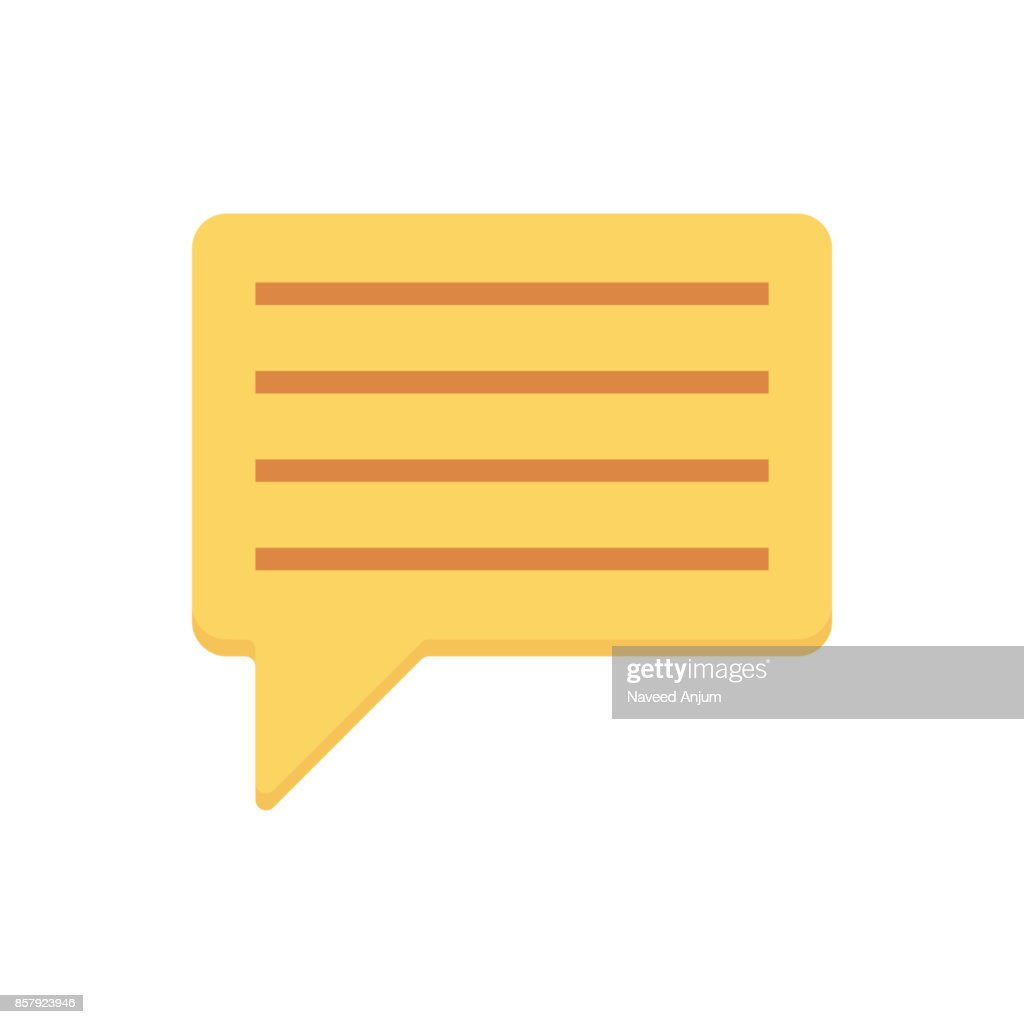 chat Flat Vector Icons