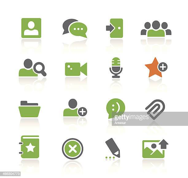 Chat Room Icons | Spring Series