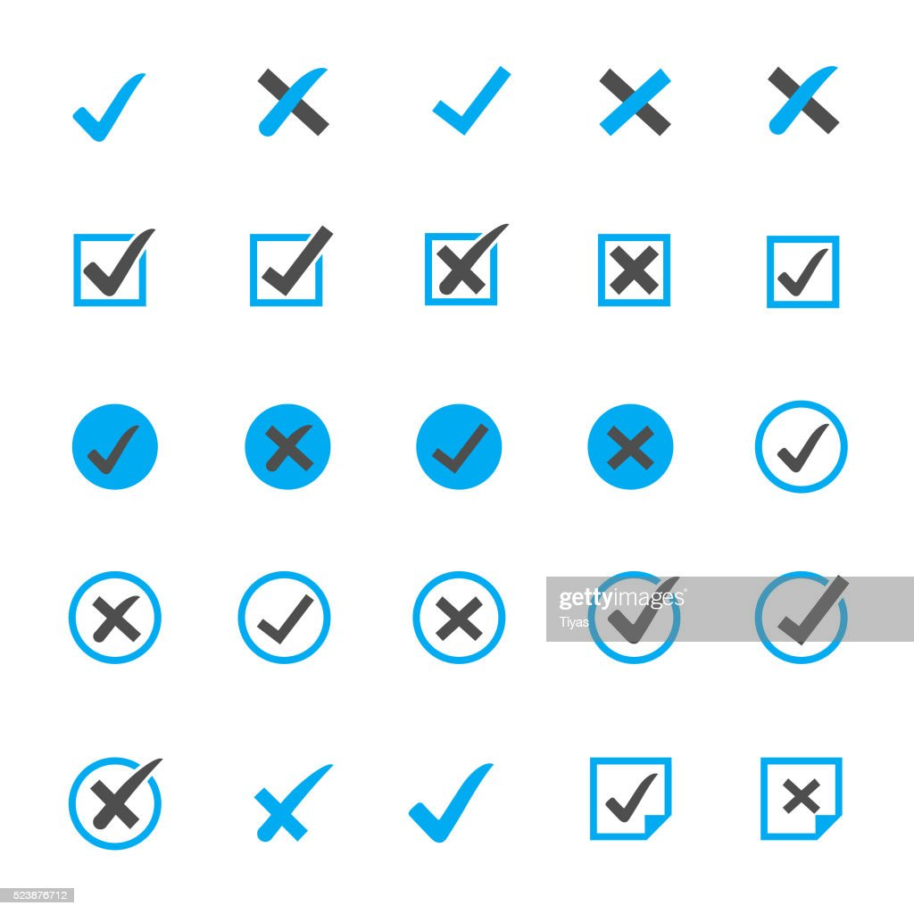 Check Marks Icon Sets