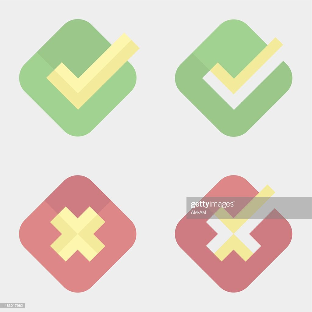 Check-box icons