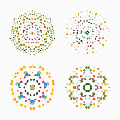 Checked pattern icon collection