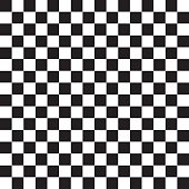 Checkered abstract background - Vector