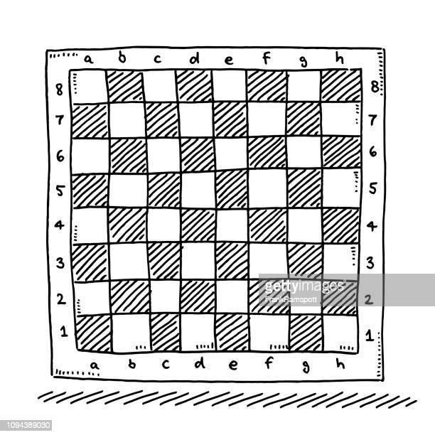 市松模様のチェス盤図面記号 - チェス点のイラスト素材/クリップアート素材/マンガ素材/アイコン素材