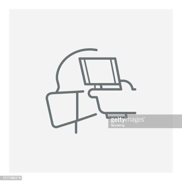 体温アイコン、コロナウイルス、コーヴィード19コンセプトの確認 - 熱映像点のイラスト素材/クリップアート素材/マンガ素材/アイコン素材