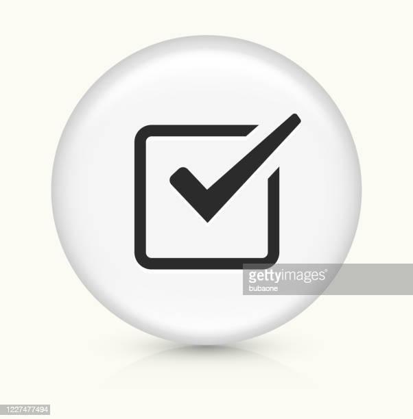 checkmark icon - checkbox stock illustrations