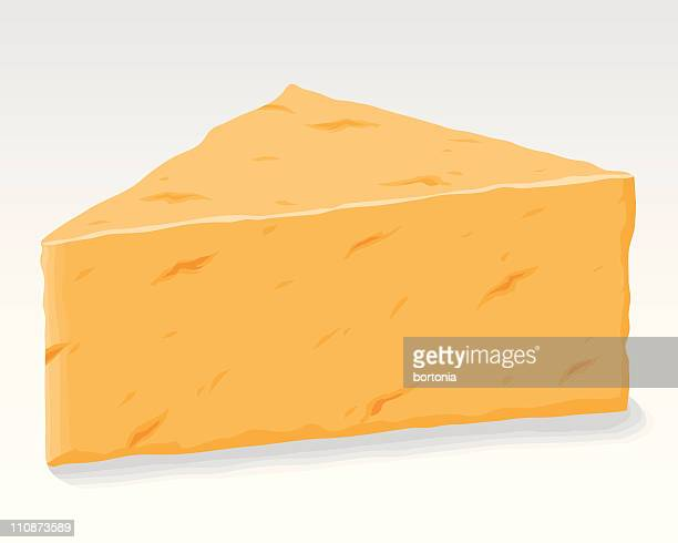 cheddar cheese - cheddar cheese stock illustrations, clip art, cartoons, & icons