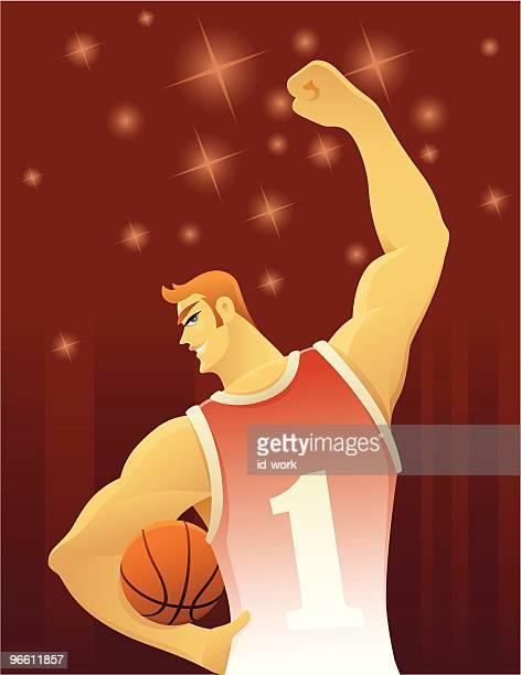 Fröhlich basketball player