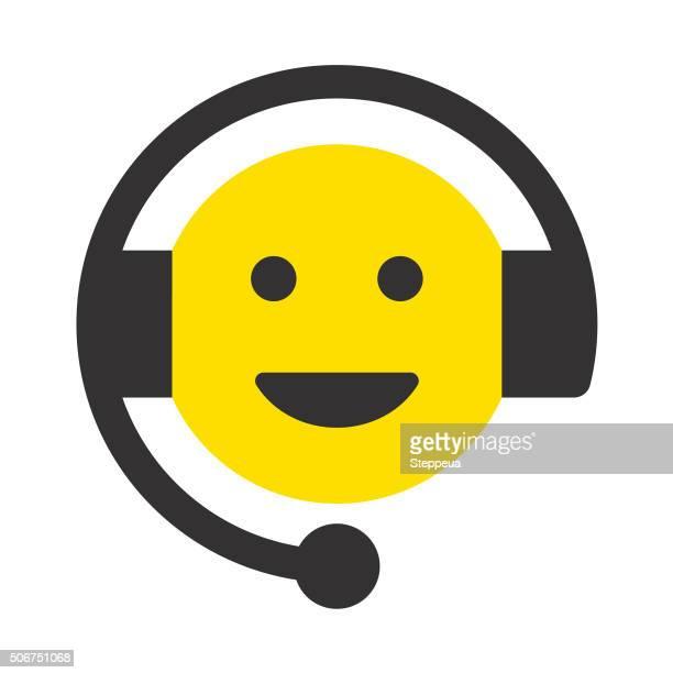 Cheerful Customer Service Representative