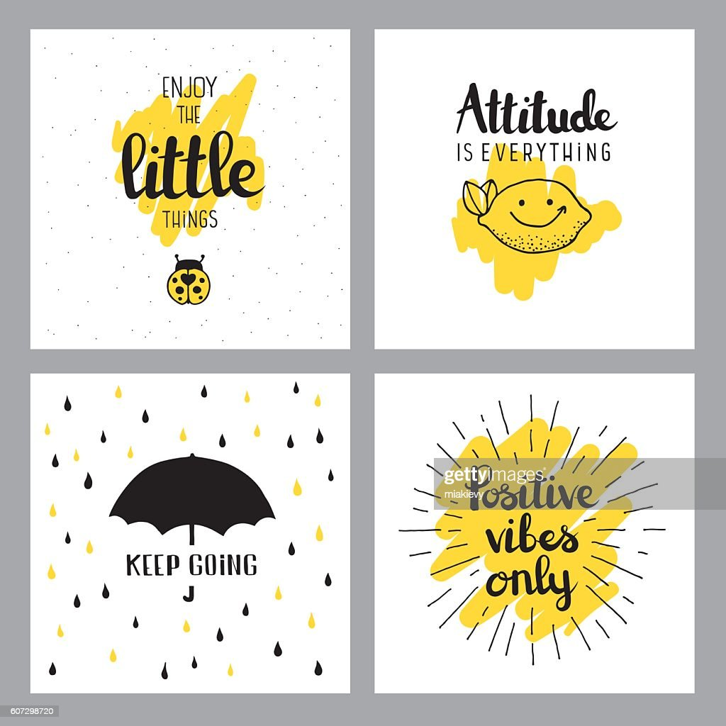 Cheerful Quotes Stock Illustration Getty Images