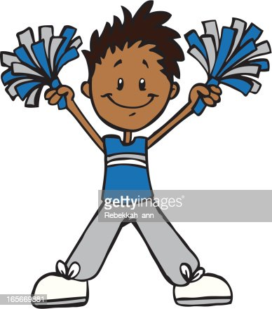 cheerleader blue gray vector art getty images free cheerleader clip art free cheerleading clipart cheerleader