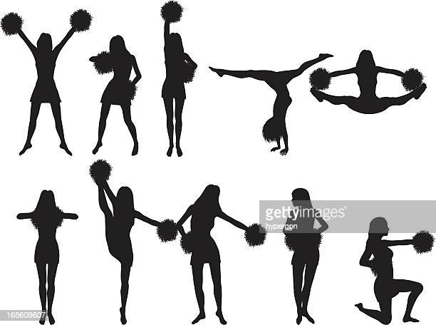 Cheerleader Silhouette Collection