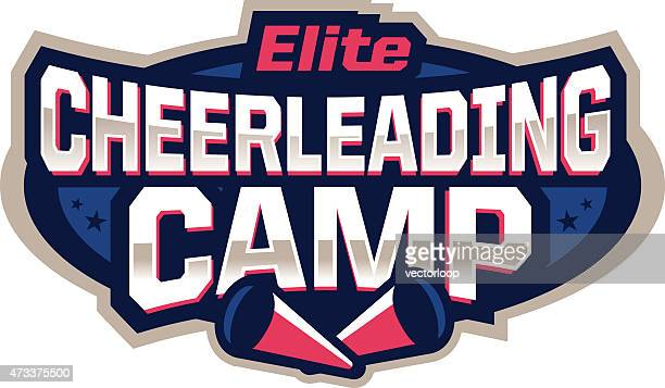cheerleading camp icon - competitive sport stock illustrations, clip art, cartoons, & icons