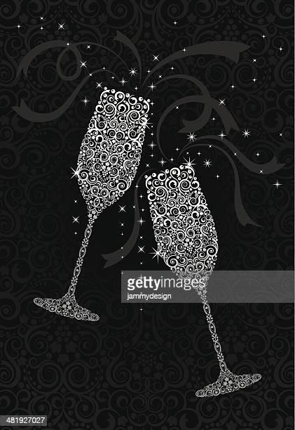 Cheers! Champagne Toast