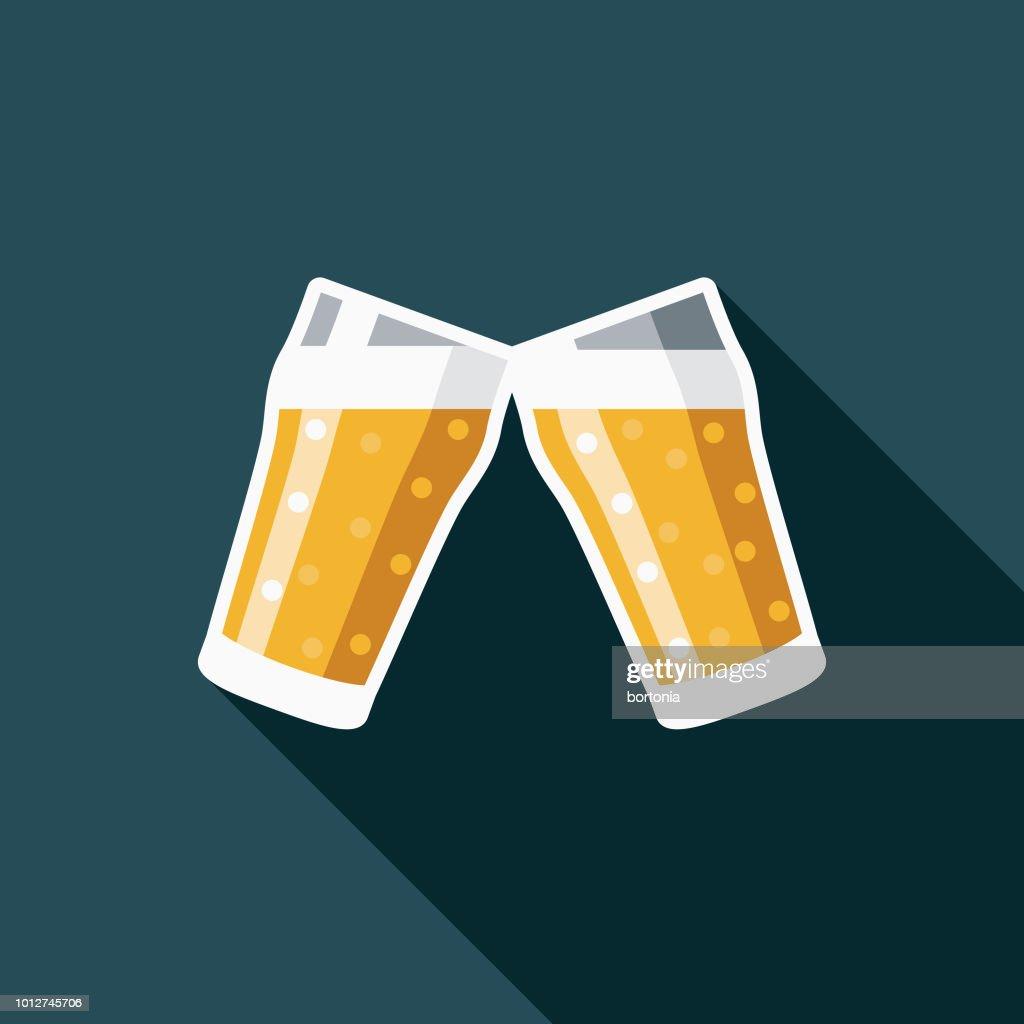 Cheers Design United Kingdom Icon : stock illustration
