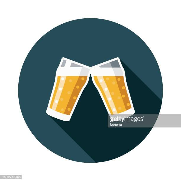 cheers design united kingdom icon - india pale ale stock illustrations, clip art, cartoons, & icons