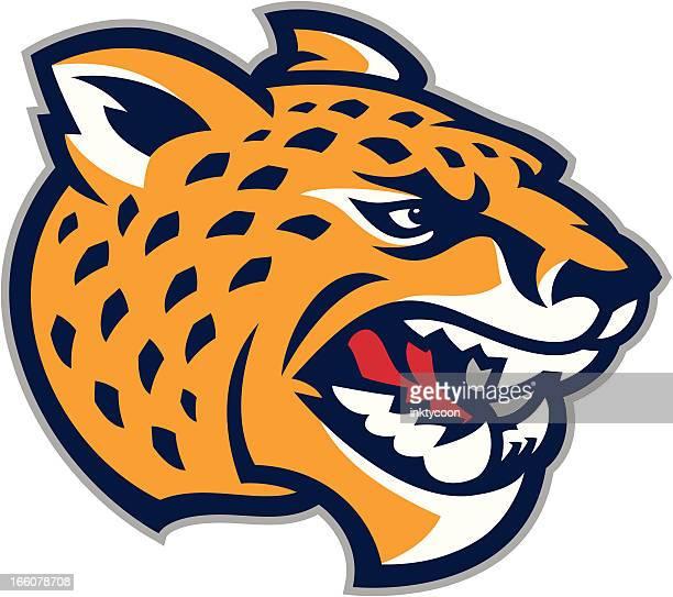 Cheetah Jaguar Mascot