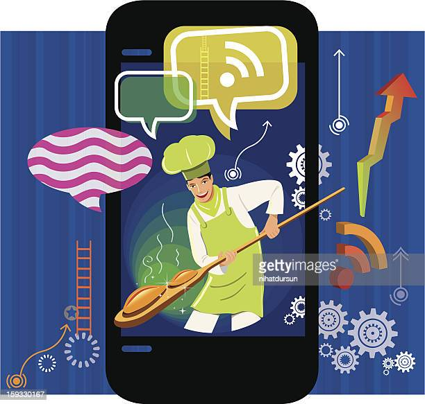Chef and phone application