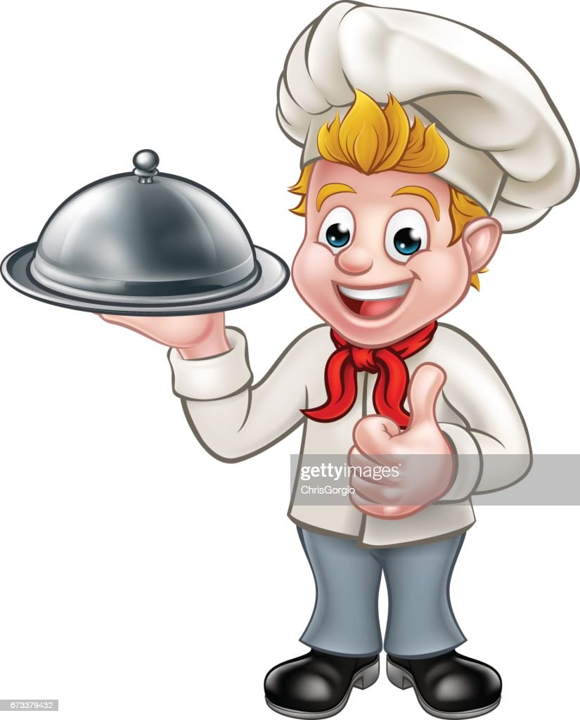 Chef Cartoon Character Mascot