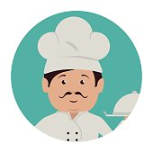 chef character service icon