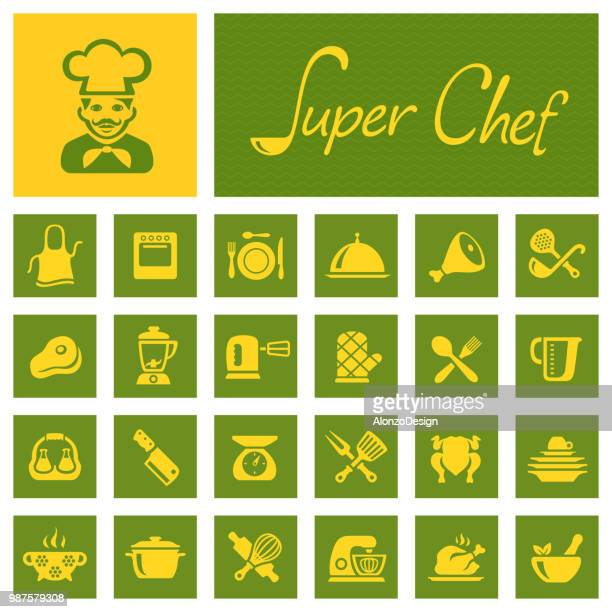 Chef Cooking Icons