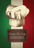 Chef Hat on Italian Insignia