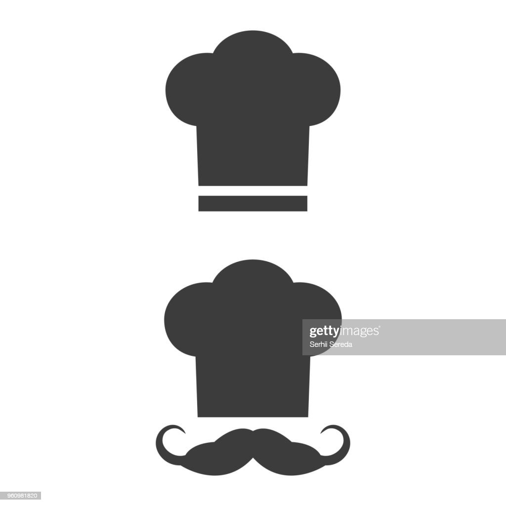 Chef icon on the white background.