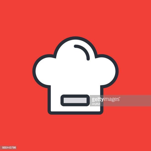 ilustraciones, imágenes clip art, dibujos animados e iconos de stock de icono de chef - chef