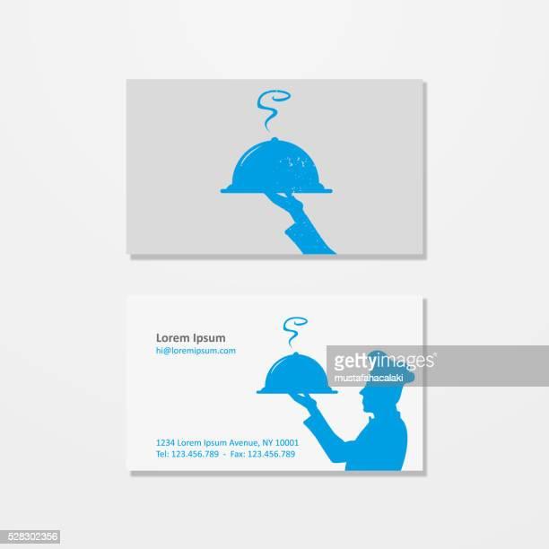 シェフのロゴ、名刺