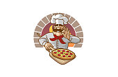 Chef Pizza Forno Logo