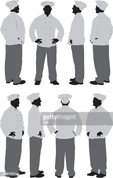 Chef standing