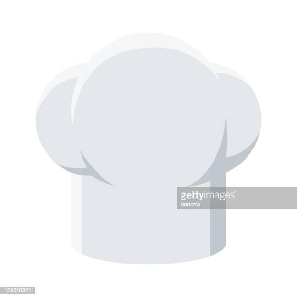 透明な背景にシェフの帽子アイコン - コック帽点のイラスト素材/クリップアート素材/マンガ素材/アイコン素材