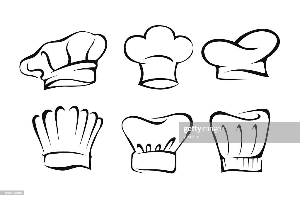 Chef's Hat Set Illustration