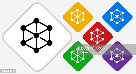Chemical Compound Color Diamond Vector Icon Vector Art Getty Images