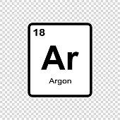 chemical element Argon