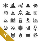 Chemical Industry Icons - Select Series