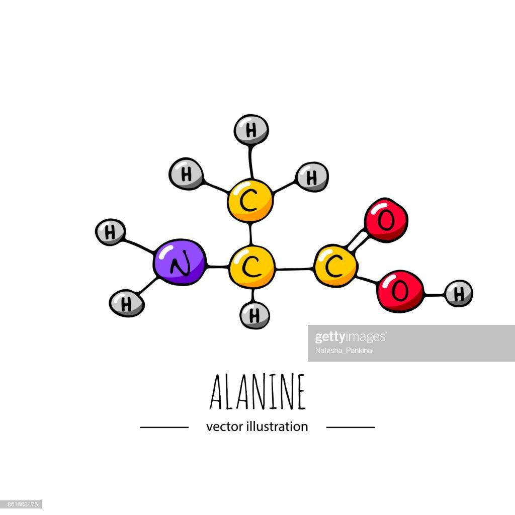 Chemical molecule icon