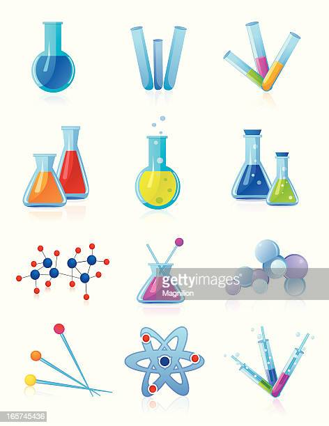 chemistry 2 - pipette stock illustrations, clip art, cartoons, & icons