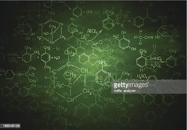 Chemistry blackboard